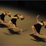 Members of the Batsheva Dance Company in performance