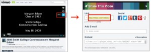 How to embed video from vimeo