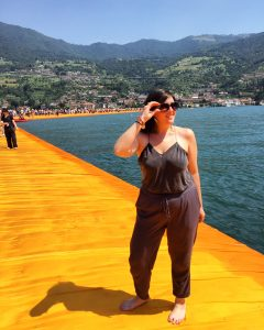Christo's Floating Piers at Lake Iseo