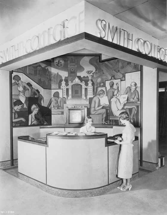 Booth at the Chicago World's Fair, 1933