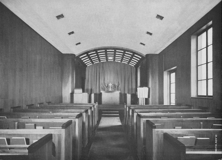 Little Chapel in the Library c1937