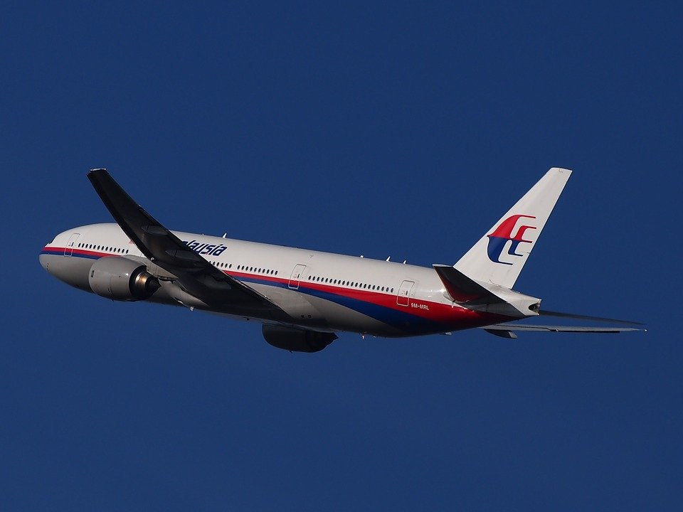 An Image of Malaysian Airlines Airplane