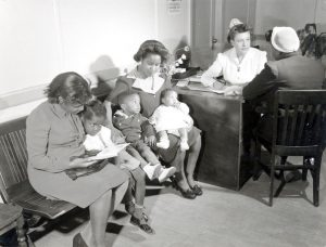 DOCUMENT 8. Women and children at Birth Control Clinical Research Bureau, n.d.