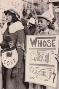 DOCUMENT 51. Harlem women demonstrate in New York City in support of civil rights demonstrators in the South, 1966.
