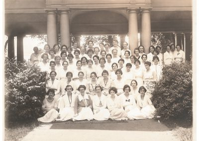 1920s Class with Mary Jarrett center front