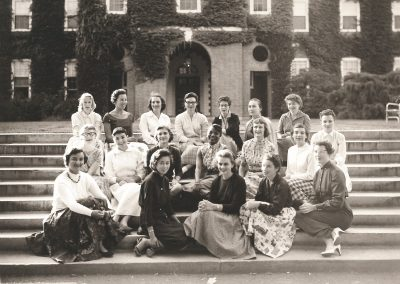 Small group from Class of 1958