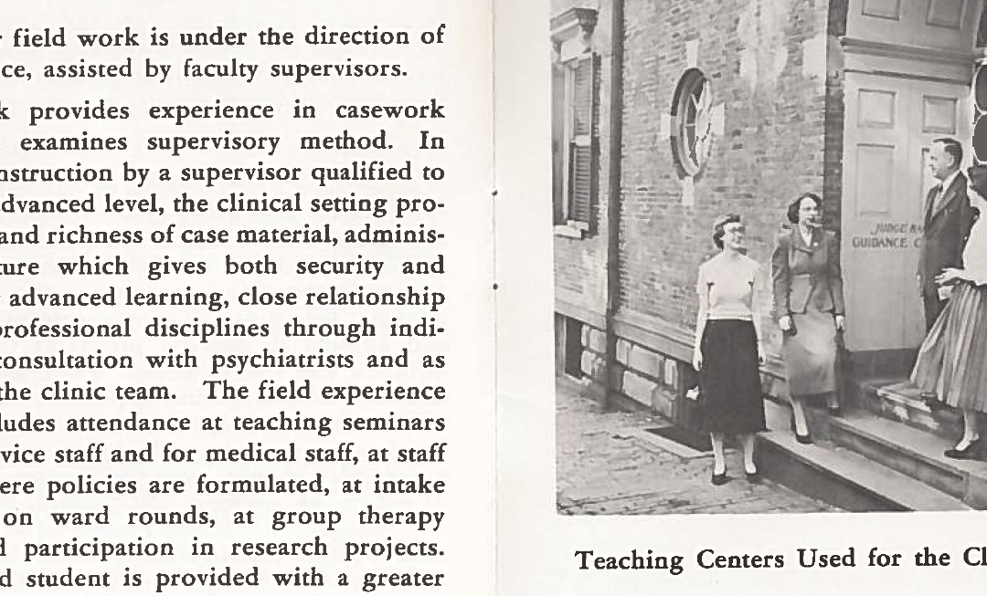 Program of Advanced Studies Brochure, 1960