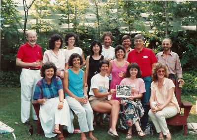 1977 Class at the 70th Anniversary in 1988