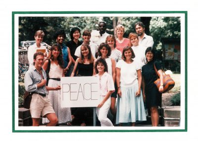 Members of the Class of 1988 Holiday greetings
