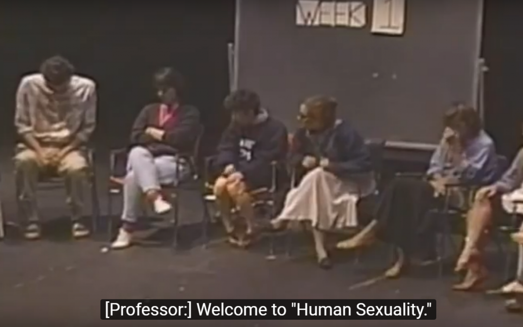 """Human Sexuality Course"" skit, 1992"